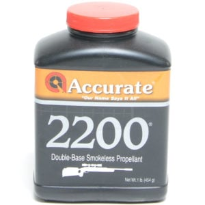 Accurate 2200 1 Pound of Smokeless Powder