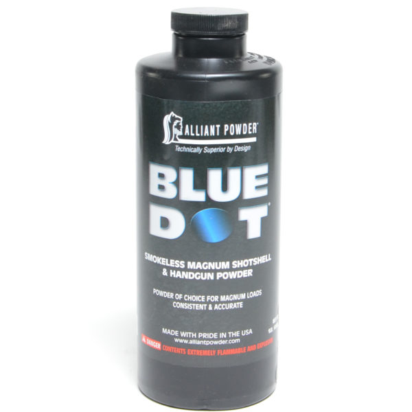 Alliant Blue Dot 1 Pound of Smokeless Powder