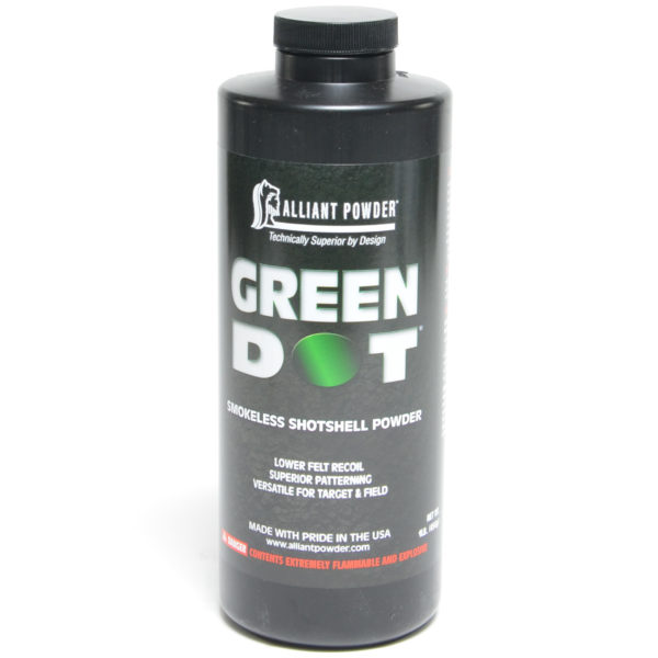Alliant Green Dot 1 Pound of Smokeless Powder