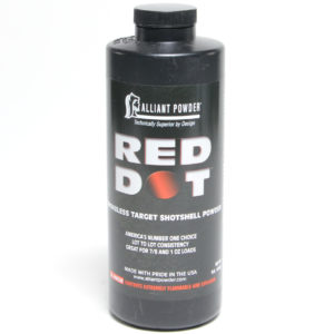 Alliant Red Dot 1 Pound of Smokeless Powder