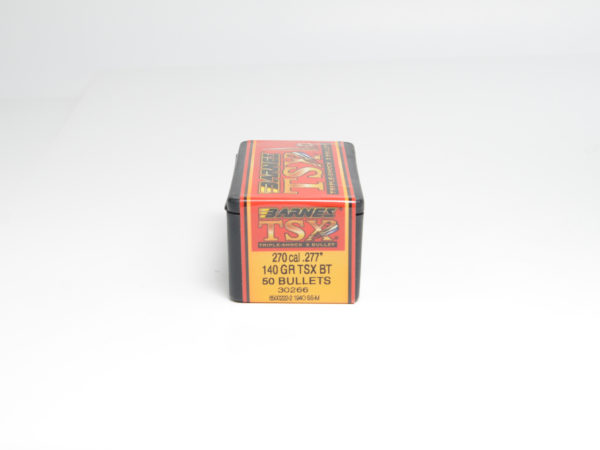 Barnes .277 / 6.8mm 140 Grain Triple-Shock X Boat Tail Bullet (50)
