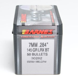 Barnes .284 / 7mm 145 Grain Long Range X Bullet Boat Tail Bullet (50)