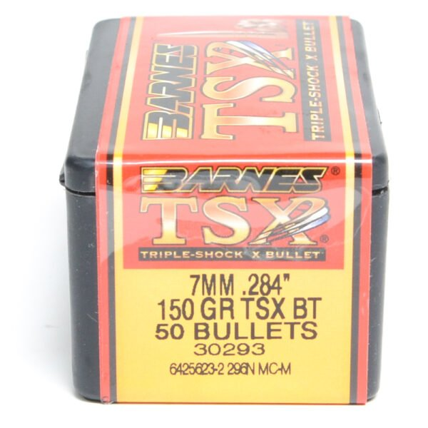 Barnes .284 / 7mm 150 Grain Triple-Shock X Boat Tail Bullet (50)