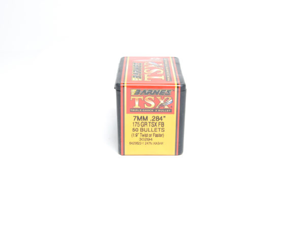 Barnes .284 / 7mm 175 Grain Triple-Shock X Flat Base Bullet (50)