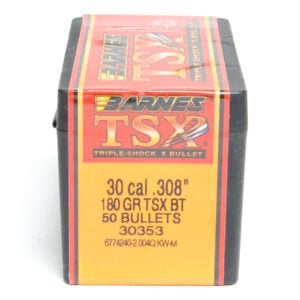 Barnes .308 / 30 180 Grain Triple-Shock X Boat Tail Bullet (50)
