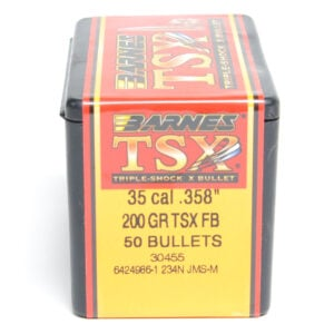 Barnes .358 / 35 200 Grain Triple-Shock X Flat Base Bullet (50)
