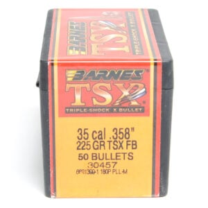 Barnes .358 / 35 225 Grain Triple-Shock X Flat Base Bullet (50)