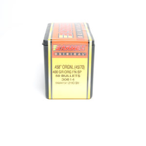 "Barnes .458 / 45-70 400 Grain ""Original"" Flat Nose Soft Point (50)"