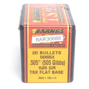 Barnes .505 / 505 Gibbs 525 Grain Triple-Shock X (20)