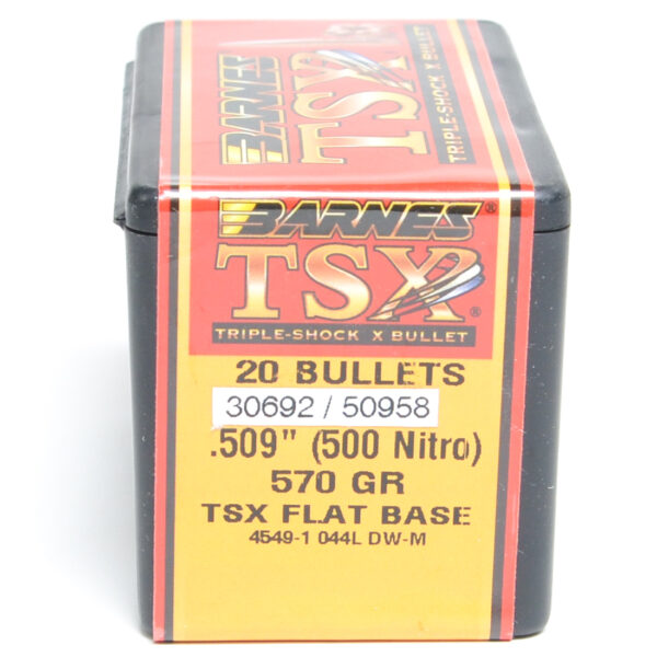 Barnes .509 / 500 Nitro 570 Grain Triple-Shock X (20)