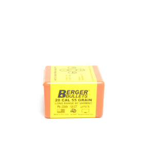 Berger .204 / 22 55 Grain Match Varmint Boat Tail Long Range (100)