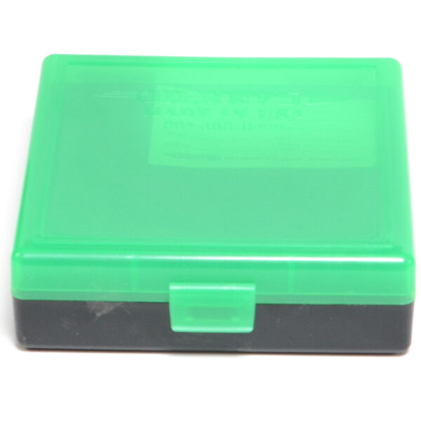 Berrys Ammo Box 380/9mm Snap Hinged 100 #001 Zombie Green/Black 50/Cs