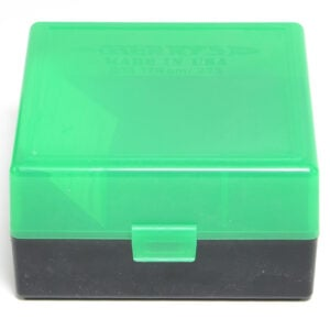 Berrys Ammo Box 222/223 Snap Hinged 100 #005 Zombie Green/Black 50/Cs
