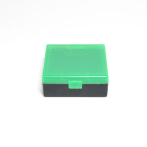 Berrys Ammo Box 38/357 Snap Hinged 100 #003 Zombie Green/Black 50/Cs