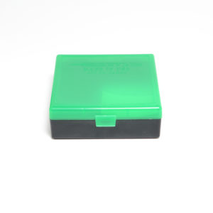 Berrys Ammo Box 44 Spl/Mag Snap Hinged 100 Zombie Green/Black 50/Cs