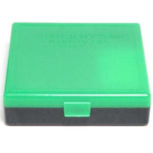 Berrys Ammo Box 10mm/45Acp Snap Hinged 100 Zombie Green/Black 50/Cs