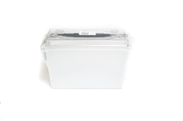 Berrys Plastic Ammo Can 40 Cal Clear