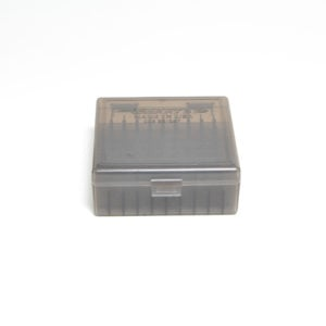 Berrys Ammo Box 38/357 Snap Hinged 100 #003 Smoke 50/Cs
