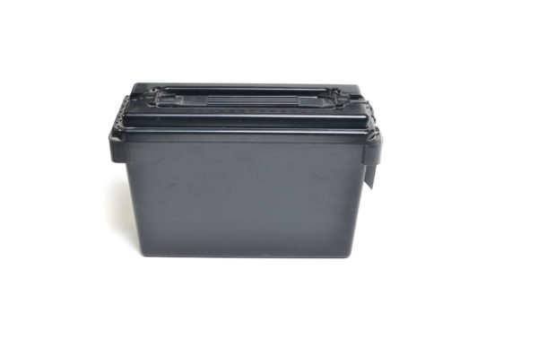 Berrys Plastic Ammo Can 30 Cal Black