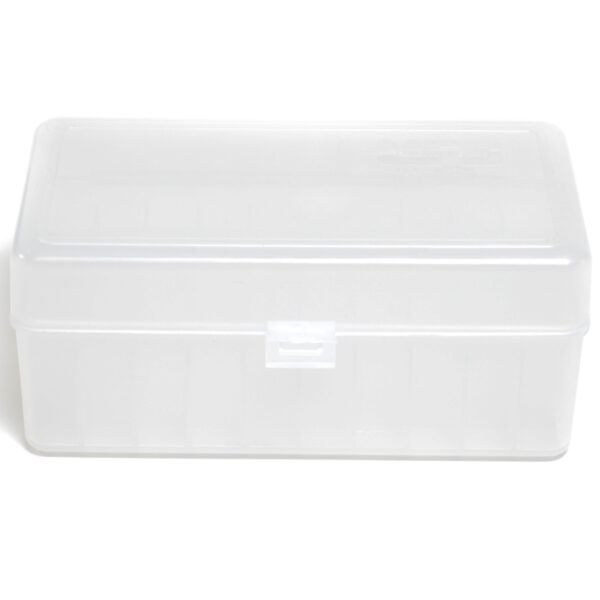 Berrys Ammo Box Small Hinged Top 50 #414 Clear 30/Cs