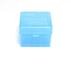 "Berrys Ammo Box 12 Ga 3.5"" Hinged Top 25 Blue 25/Cs"