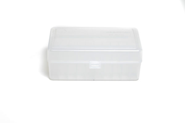 Berrys Ammo Box 45/70 Hinged Top 50 #411 Clear 30/Cs