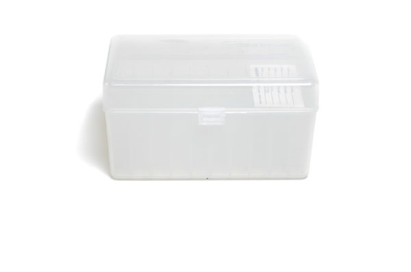 Berrys Ammo Box 300 Ultra Hinged Top 50 Clear 30/Cs
