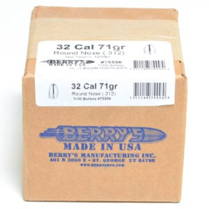 Berrys .312 / 32 71 Grain Round Nose (1000)