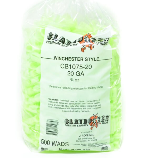 Claybuster 20 Ga Win 3/4 Oz (500)