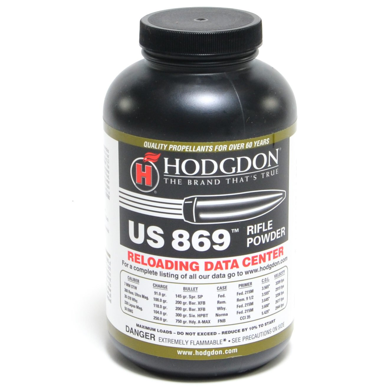 Hodgdon Us 869 1 Pound of Smokeless Powder