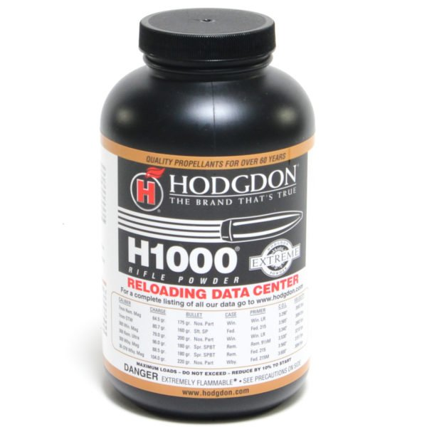 Hodgdon H1000 1 Pound of Smokeless Powder