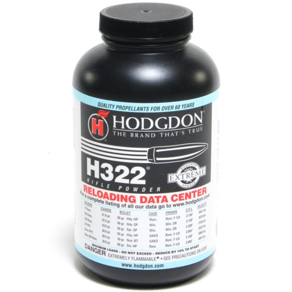 Hodgdon H322 1 Pound of Smokeless Powder