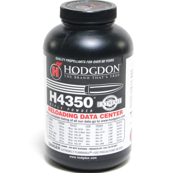 Hodgdon H4350 1 Pound of Smokeless Powder