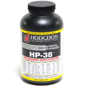 Hodgdon Hp38 1 Pound of Smokeless Powder
