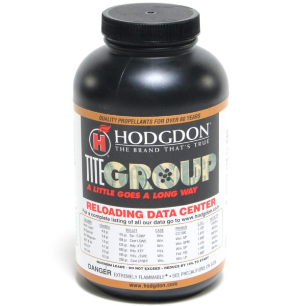 Hodgdon Titegroup 1 Pound of Smokeless Powder
