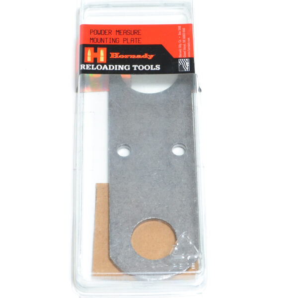Hornady Powder Measure Mounting Plate