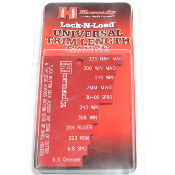 Hornady Universal Trim Length Gauge