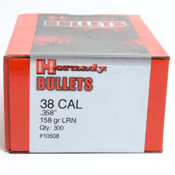 Hornady Lead .358 / 38 158 Grain Lead Round Nose (300)