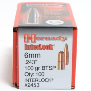 Hornady .243 / 6mm 100 Grain Soft Point Boat Tail (100)