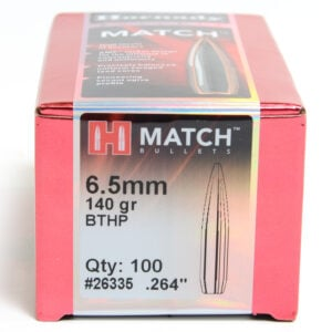 Hornady .264 / 6.5mm 140 Grain Hollow Point Boat Tail (100)