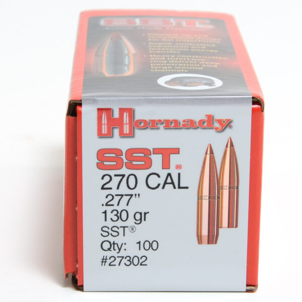 Hornady .277 / 6.8mm 130 Grain SST (Super Shock Tip) (100)