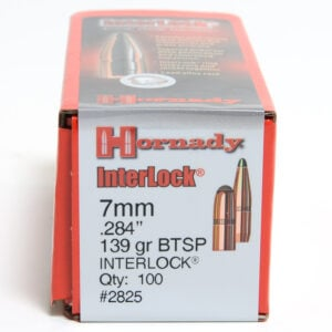 Hornady .284 / 7mm 139 Grain Soft Point Boat Tail (100)