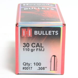 Hornady .308 / 30 110 Grain Full Metal Jacket (100)