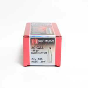 Hornady .308 / 30 155 Grain ELD-M (Extremely Low Drag Match) (100)