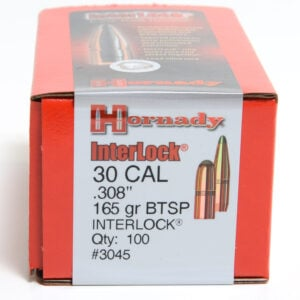 Hornady .308 / 30 165 Grain Soft Point Boat Tail (100)