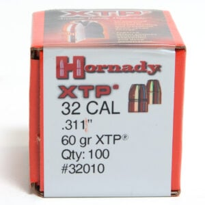 Hornady .312 / 32 60 Grain Hollow Point/XTP (eXtreme Terminal Performance) (100)