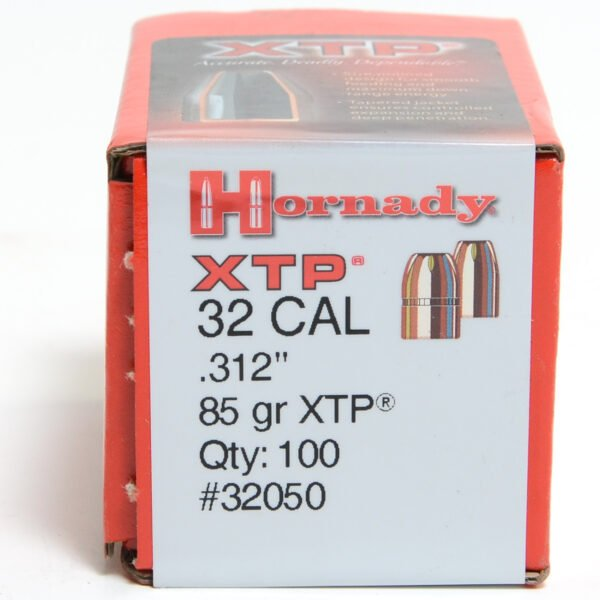 Hornady .312 / 32 85 Grain Hollow Point/XTP (eXtreme Terminal Performance) (100)