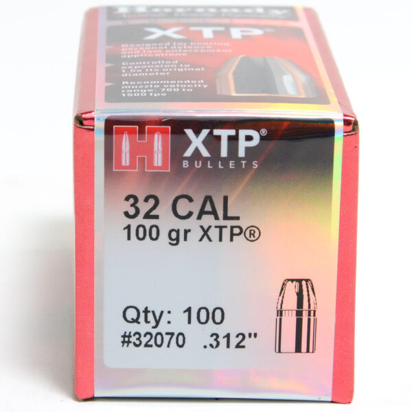 Hornady .312 / 32 100 Grain Hollow Point/XTP (eXtreme Terminal Performance) (100)