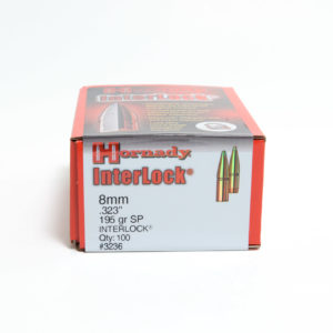 Hornady .323 / 8mm 195 Grain Soft Point (100)