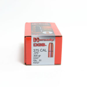 Hornady .375 / 375 300 Grain DGS (Dangerous Game Solid) (50)